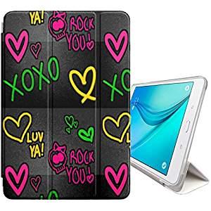 accesorios de informática - funda tablet corazones