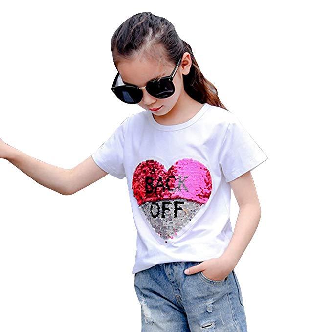 camiseta niña corazones