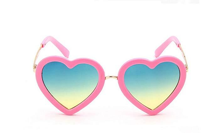 gafas niña corazones