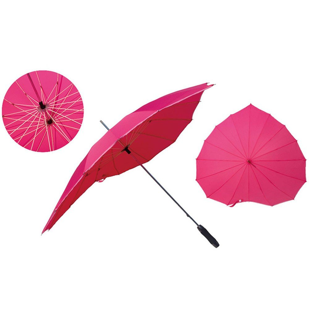 Paraguas de corazones