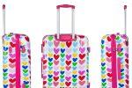 maletas de corazones